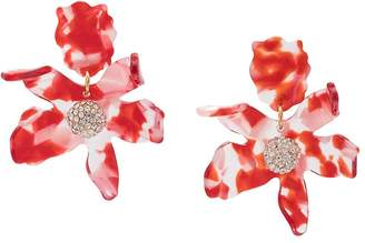Lele Sadoughi abstract flower earrings