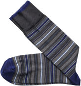 Johnston & Murphy Variegated Stripe Socks