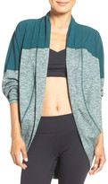 Zella Reversible Colorblock Cocoon Cardigan