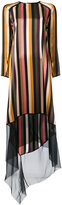 Petar Petrov striped dress - women - Silk - 36