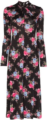Erdem Nolene floral print midi dress