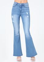 Bebe Heartbreaker Flare Jeans