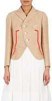 Shiro Sakai Women's Linen-Cotton Crop Blazer