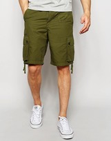Pretty Green Shorts With Pocket In Khaki