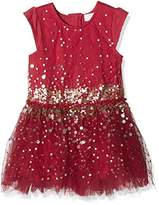 Pumpkin Patch Girl's Tulle Sequin Dress,(Manufacturer Size:7)