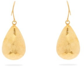 Pippa Small Turquoise Mountain - Needa Multi-faceted Drop Earrings - Womens - Gold