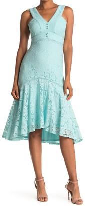 Taylor Midi Lace Trumpet Dress