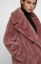 Bcbg Faux Fur Coat