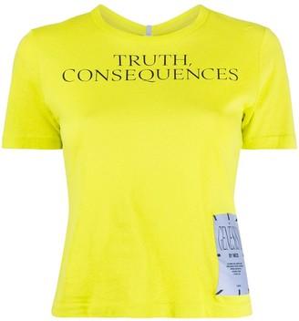 McQ slogan T-shirt