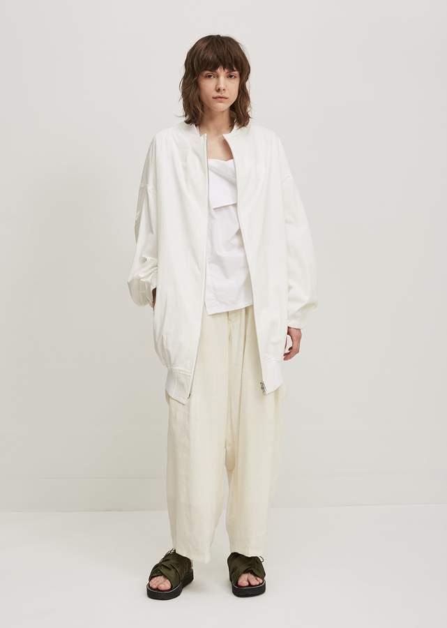 Y's Canvas U-Long Blouson White