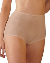 Shadowline Women's Plus Size Panties-Nylon Brief (3 Pack)