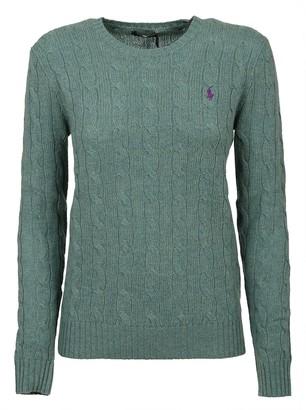 Polo Ralph Lauren Green Wool Sweater