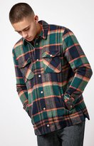 LIRA Mulberry Plaid Flannel Shacket