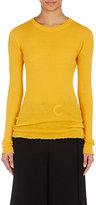 Proenza Schouler Women's Button-Back Sweater-YELLOW