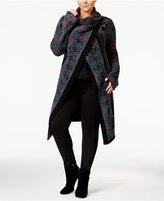 Rachel Roy Curvy Trendy Plus Size Wrap Cardigan