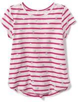 Old Navy Printed Shirred-Back Top for Toddler Girls