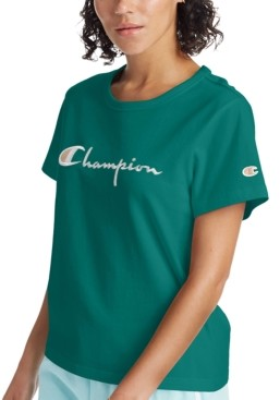Champion The Girlfriend Cotton Logo T-Shirt