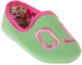 Polo Ralph Lauren Lime & Pink Jayde II Booties - Infant