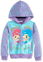 Nannette Nickelodeon's Shimmer & Shine Fleece Hoodie, Toddler Girls (2T-5T) & Little Girls (2-6X)