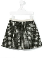 Babe And Tess - checked full skirt - kids - Cotton - 4 yrs