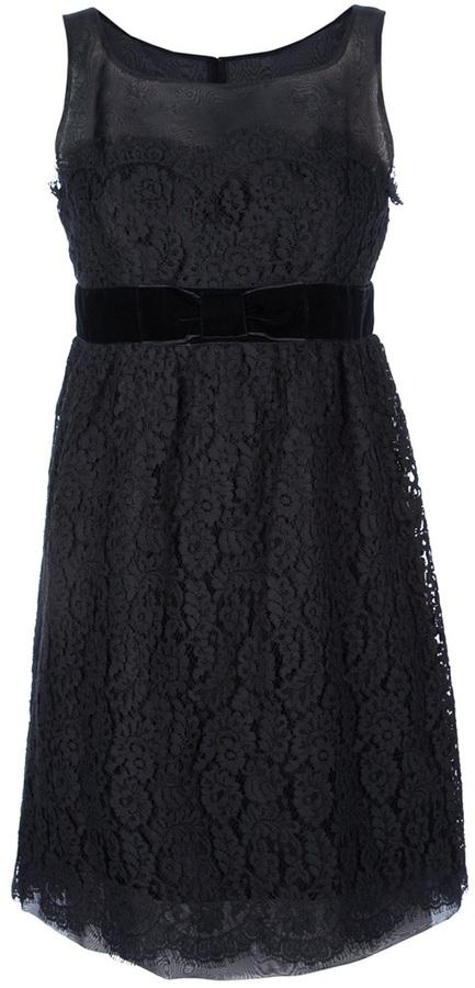 Anna Sui 'Botanic' prom lace dress