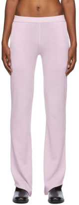 Ludovic de Saint Sernin Purple D-Pants Trousers