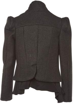 Meadham Kirchhoff Anthracite Wool Jackets