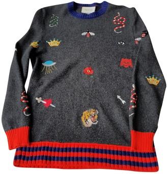 Gucci Khaki Wool Knitwear for Women