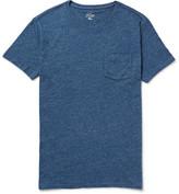 J.Crew Flagstone Mélange Knitted Cotton T-Shirt