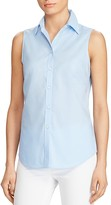 Lauren Ralph Lauren Sleeveless Button Down Shirt