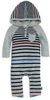 Splendid Infant Boys' Multistripe Hooded Coverall - Sizes 0-9 Months