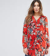 Mama Licious Mama.licious Mamalicious Bold Bloom Print Shirt