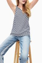 Splendid Stripe One-Shoulder Top