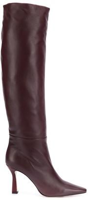 Wandler sculpted heel long boot