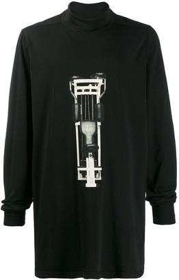 Rick Owens peck deck T-shirt