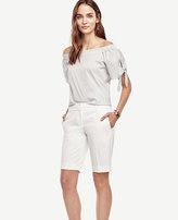 Ann Taylor Petite Devin Cotton Walking Shorts