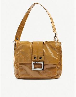 Vestiaire Collective Roger Vivier patent-leather shoulder bag