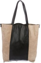 L'Agence Bicolor Leather Tote