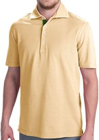 Robert talbott fancy vintage wash polo shirt short for Robert talbott shirts sale