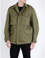 Burberry Utility Cotton-blend Jacket
