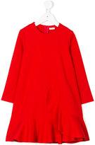 Il Gufo ruffled A-line dress - kids - Elastodiene/Polyamide/Viscose - 2 yrs