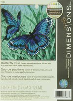 Dimensions Needlecrafts Needlepoint, Butterfly Duo