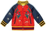 Gucci Embroidered Bomber Jacket