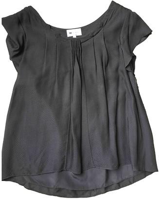 Vanessa Bruno Anthracite Silk Top for Women