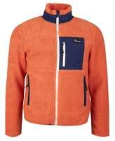 Penfield Mattawa Full Zip Fleece Colour: ORANGE, Size: MEDIUM