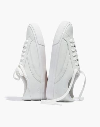 Madewell Women's Sidewalk Low-Top Sneakers in Leather