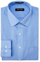 Pierre Cardin Slim Blue Check Dress Shirt