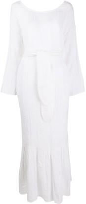 Mara Hoffman Augusta tie-waist beach dress