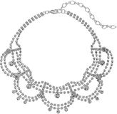 Apt. 9 Simulated Crystal Scalloped Choker Necklace