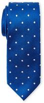 Pierre Cardin Silk Polka Dot Slim Tie